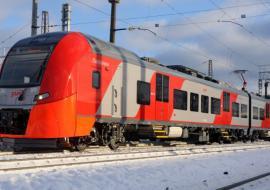 В Свердловской области РЖД реконструируют пути для движения «Ласточек» «Уральских локомотивов»