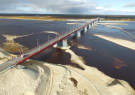 Мост через Пур в ЯНАО откроют до конца 2020 года