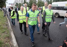 Глава «Росавтодора» проинспектировал челябинские дороги