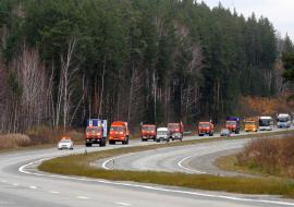 МЧС и МВД проведут масштабные учения на трассе М5 «Урал» в Челябинской области