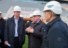 Замминистра строительства РФ поручил сдать «Екатеринбург-Арену» до 25 декабря