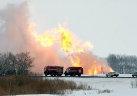 Ростехнадзор проведет проверку после взрыва на объекте «Газпром переработки» в ХМАО