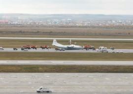 Штаб ЦВО начал проверку по аварийной посадке самолета в Кольцово