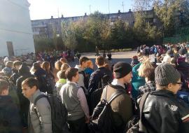 В Челябинске эвакуировали 110 тысяч человек