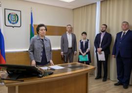 Комарова усомнилась в своевременной сдаче проблемного соцобъекта в Нягани