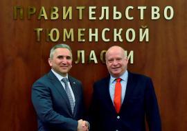 Моор предложил немцам развивать машиностроение в Тюменской области