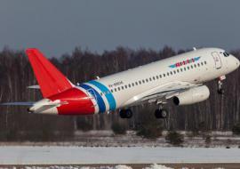 Доля рынка авиакомпании «Ямал» сократилась из-за проблем с Sukhoi Superjet 100