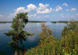 Озеро Увильды открыли для туристов