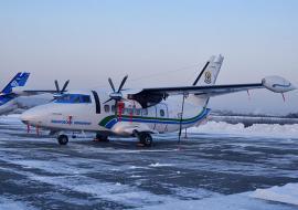 УЗГА поставит 5 самолетов L-410 за 2 миллиарда