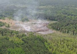 Жители муниципалитета в Свердловской области заявили о горящей на протяжении месяца свалке
