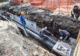 «Тепло Тюмени» проводит оптимизацию капитального ремонта сетей