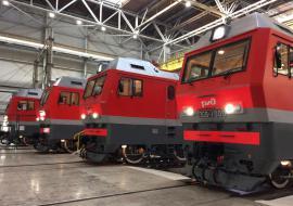 СП «Синары» и Siemens передало РЖД тысячный грузовой электровоз