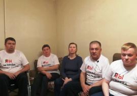 В Тюмени инвалиды прекратили голодовку после госпитализации организатора