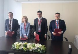 На ПМЭФ подписаны соглашения о сокращении вредных выбросов челябинских предприятий