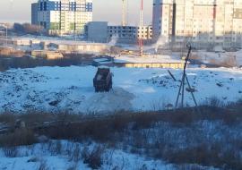Котова прокомментировала появление незаконного снежного полигона в Челябинске