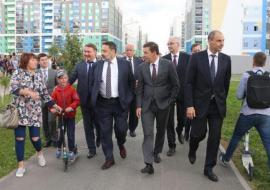 Куйвашев договорился о развитии медкластера в Академическом районе