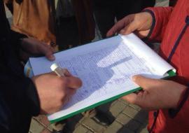 Штаб Путина пожаловался генпрокурору на сбор подписей в Кургане