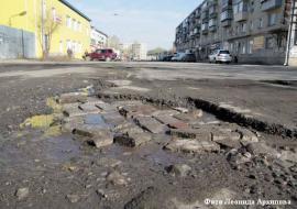 ОНФ насчитал в Курганской области 139 километров убитых дорог
