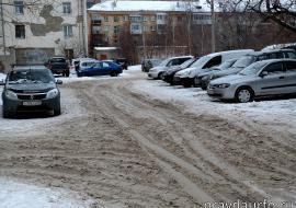 В мэрии Тюмени раскритиковали управляющие компании за снежные завалы во дворах