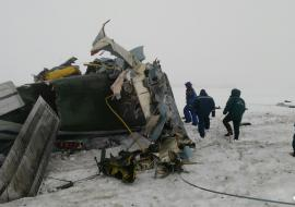 Госкомиссия назвала виновных в крушении летевшего из Екатеринбурга Ил-18