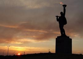 Подрядчики гарантировали соблюдение сроков ремонта главного монумента Нижневартовска