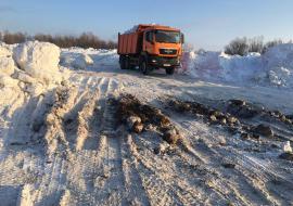 Экологи обвиняют Росприроднадзор ХМАО в бездействии на незаконной свалке загрязненного снега в Сургуте