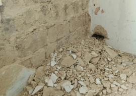 Власти поселка Роза организовали капремонт в сползающих в Коркинский разрез домах