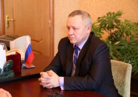 Глава Юргамышского района Игорь Касатов