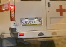 Полиция Магнитогорска проверяет информацию о переехавшей человека скорой