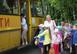 В Челябинской области автобус с детьми  попал в ДТП