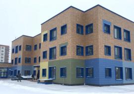 Строящийся в Новом Уренгое детский сад «Винклюзия»