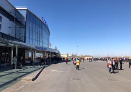 В Тюмени экстренно эвакуировали аэропорт Рощино