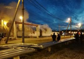 На заводе «СИБУРа» в Тобольске сгорел склад