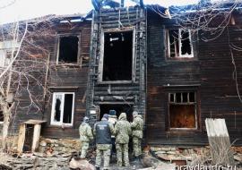 Инсайдеры сообщили об обысках в офисе застройщика после пожара на улице Омская в Екатеринбурге