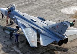 Летчики ЦВО нанесли ракетно-бомбовый удар в Курганской области