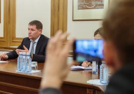 Заместитель губернатора Свердловской области Сергей Бидонько