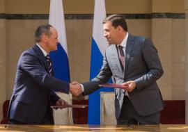 Куйвашев поручил «Газпром нефти» свердловские дороги