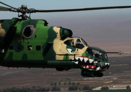 Бригаду армейской авиации ЦВО усилили ударными вертолетами