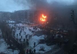 В Магнитогорске произошел взрыв в многоквартирном доме
