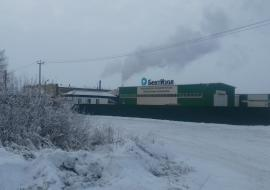 Жители Курганской области жалуются на черный снег от выбросов бентонитового завода