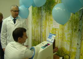 Банк «Открытие» обеспечил оборудованием поликлинику Нягани