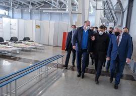 Куйвашев дал поручения по временному госпиталю в «Екатеринбург-ЭКСПО»