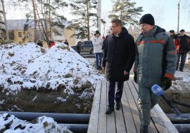 Военный городок Чебаркуля подключили к новой системе теплоснабжения