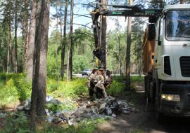 ОНФ Кургана вышел на «Генеральную уборку»