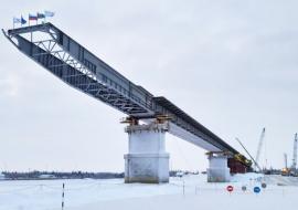 В ЯНАО начали новый этап строительства моста через Пур