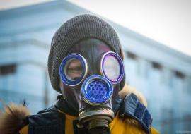 Власти Челябинска требуют не надевать противогазы к приезду Путина