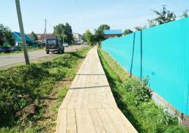 УМВД по ХМАО займется тротуарами в Кондинском районе