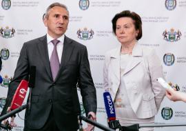 Комарова и Моор объявили о создании межрегионального научного центра Арктики