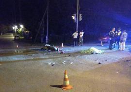 В Свердловской области в ДТП погиб мотоциклист и покалечилась его пассажирка