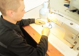 В Свердловской области ИК-46 получила заказ от правительства на пошив 30 тысяч масок